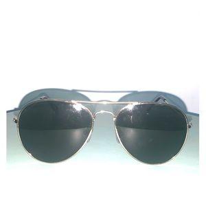 J crew black sunglasses aviators